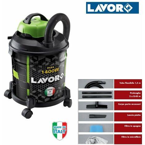 """main image of """"Aspiratore/Aspirapolvere/Aspiratutto solidi e liquidi 1400W 20lt. Lavor - Joker 1400S"""""""