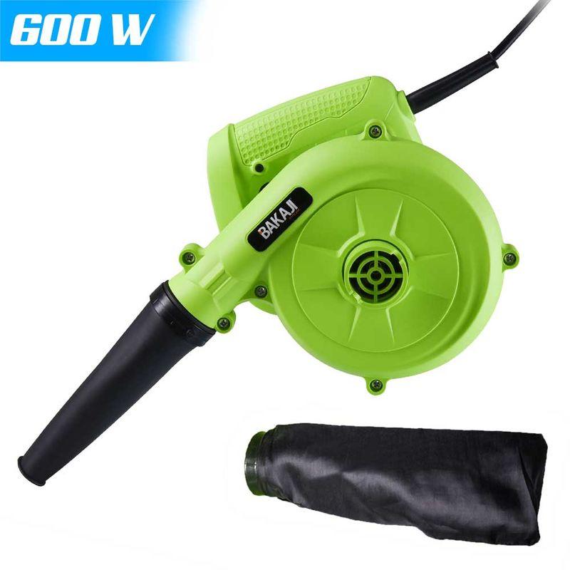 Aspiratore Elettrico 600W Aspirapolvere Soffiatore Mini Aspirafoglie Portatile