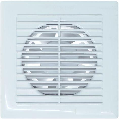 Aspiratore estrattore di aria da bagno e cucina a muro assiale diametro 100 mm