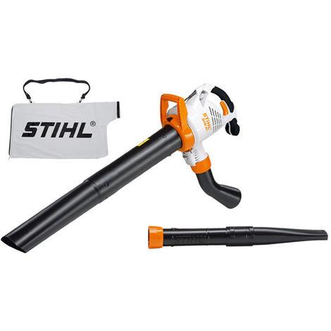 Aspiratore trituratore e soffiatore Stihl SHE 81 per foglie 1,4 kW