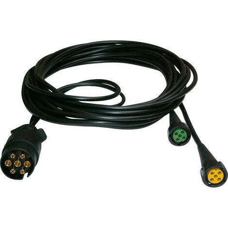 Aspöck Câble d'alimentation pour feux arrières - 5 m