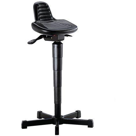 Assis-debout - avec dosseret rallongé - hauteur réglable de 610 à 880 mm