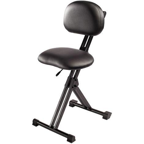Assis-debout XXL - sans repose-pieds - hauteur réglable 550 – 770 mm