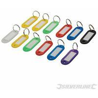 Assorted Coloured Key ID Tags 12pk - 12pk (844160)