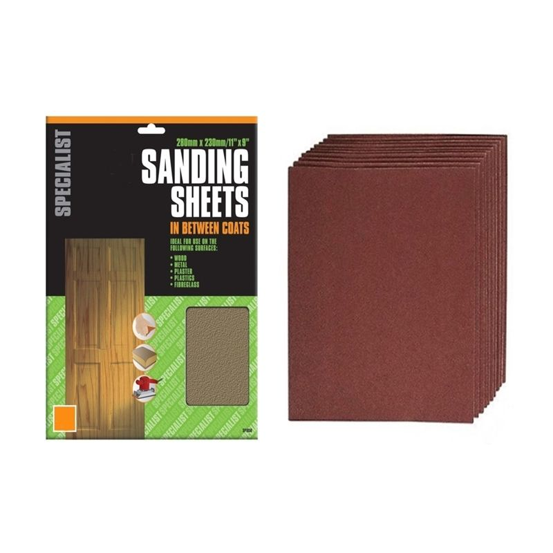 SANDPAPER MIXED GRIT,WOOD,DIY PACK OF 20 FINE MEDIUM COARSE GRITS SAND PAPER UK
