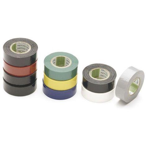 Assortiment 10 rouleaux adhésif électriques multicolores