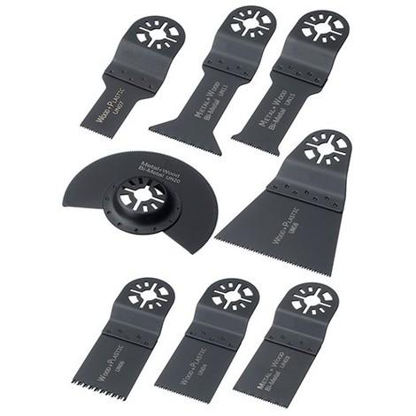 Assortiment 8 pcs de lames de scie oscillante universelle - Métal et bois - ZOUSET3 - Labor