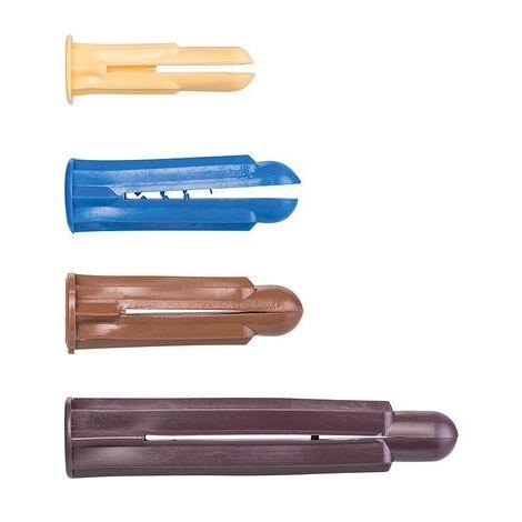 Assortiment de chevilles plastique Crampon - chevilles crampon assortie /85 - Vinmer