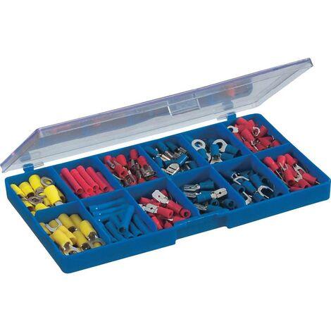 Assortiment de cosses à sertir 0.50 mm² 2.50 mm² bleu, jaune, rouge TRU COMPONENTS 732038 230 pc(s)