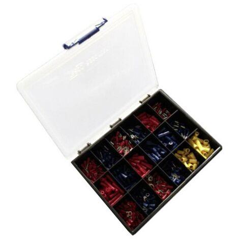 Assortiment de cosses à sertir 0.50 mm² 6 mm² rouge, bleu, jaune WKK 6368 1 set
