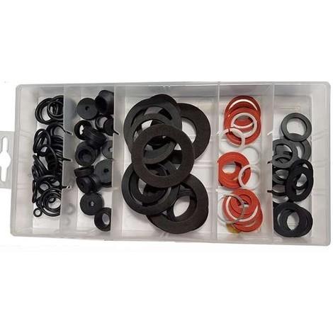 Assortiment de joints O-Ring caoutchouc (125 Pièces)