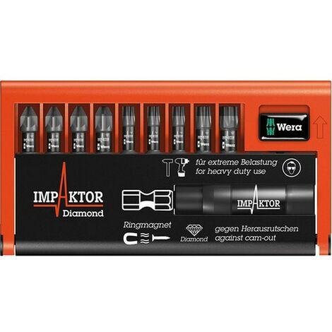 Assortiment d'embouts Bit-Check Impaktor, 10 pièces, PH/TORX ®