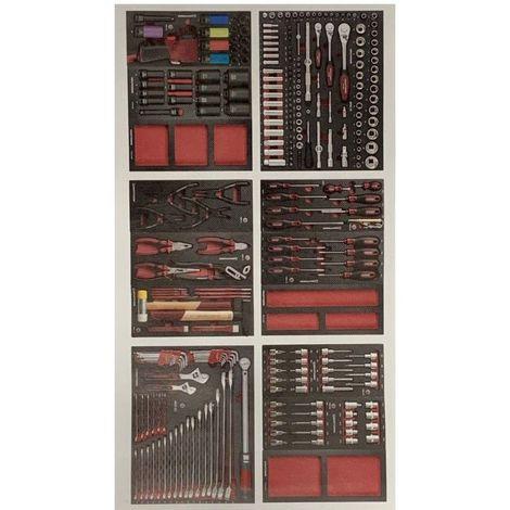 Assortiment d'outils Kraftwerk Completo EVA de 276 pieces 2154.64