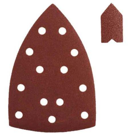 Assortment 20 self-gripping abrasives RYOBI 149x99mm for triangular sanders SPS20A