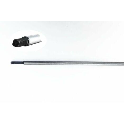 Asta di Trasmissione quadra 5,4mm per Decespugliatore 52cc lunghezza 1520mm diametro 8mm