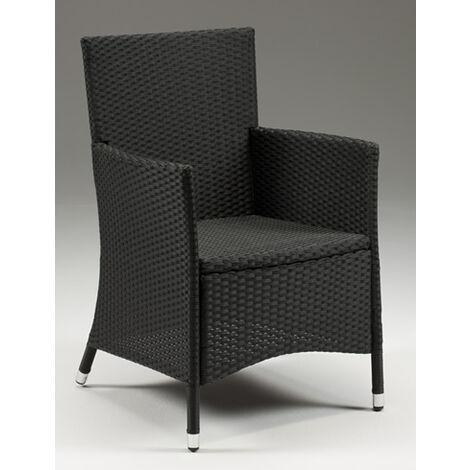 Asta Stackable Wicker Tub Chair - Indoor/Outdoor