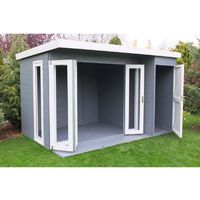 Aster 12 x 8 Summerhouse With Shed Annexe