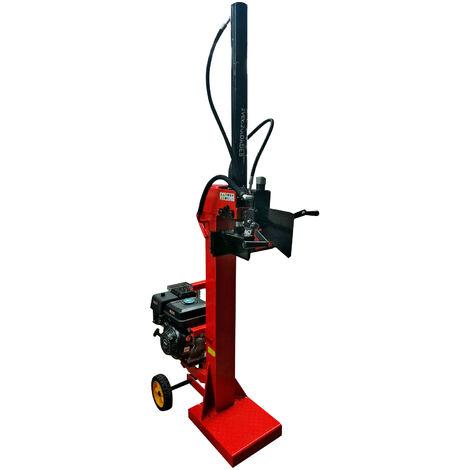Astilladora de Leña a Gasolina Vertical , 15 Toneladas - Bricoferr