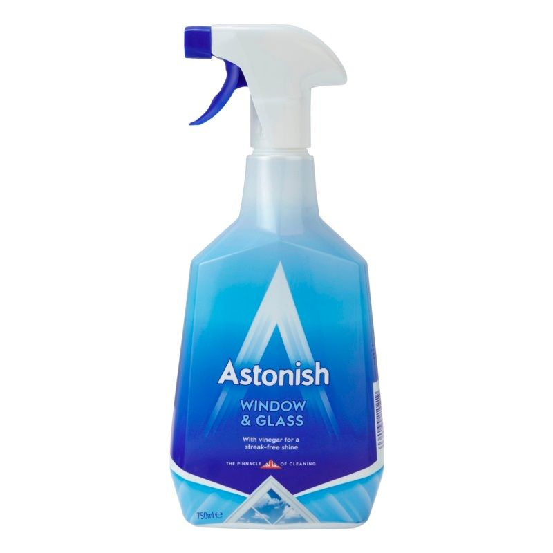 Image of Astonish Window and Glass Cleaner - 750ml Non Smear Easy Trigger Spray