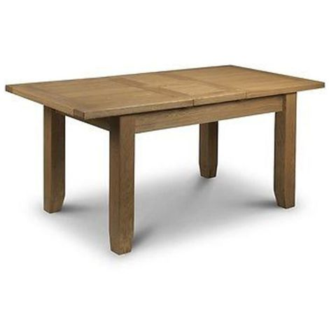 Astoria Dining Table Classic Style Thick Top Waxed Oak Finish
