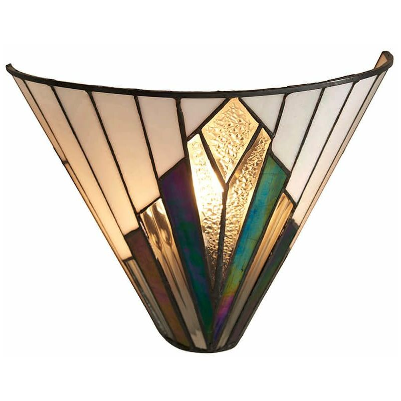 Image of 12-interiors 1900 - Astoria wall lamp, glass and metal