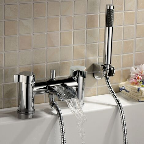"""main image of """"Astra Waterfall Bath Shower Mixer Tap Chrome"""""""