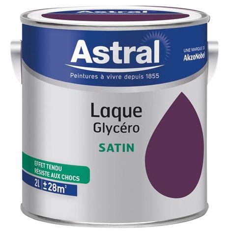 ASTRAL - Laque glycéro satinée 2 L - bois foncé