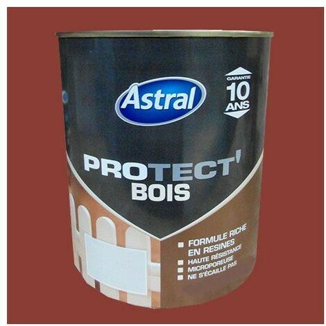 ASTRAL Peinture Protect'Bois Ton bois 0,5 L - Ton Bois