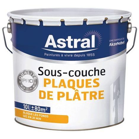 Attirant ASTRAL   Peinture Sous Couche Plaque De Plâtre   10 L