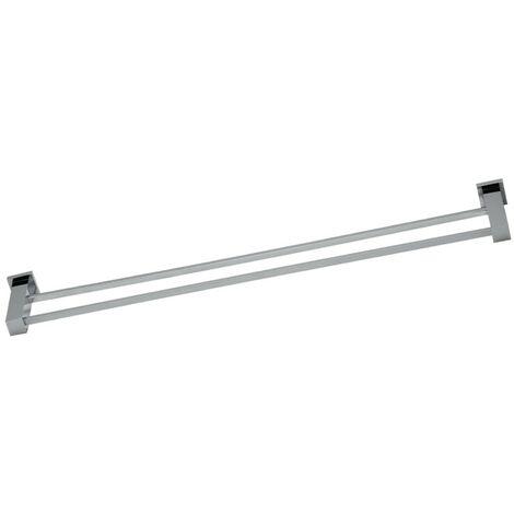 Astril Chrome Double Towel Rail