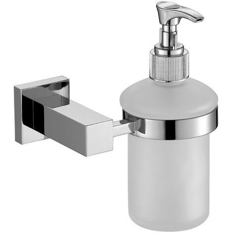 Astril Chrome Soap Dispenser & Holder
