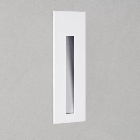Astro Borgo 43 2700k Marker Wall Light White IP44 IP65 Dimmable