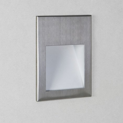 Astro Borgo 54 Marker Wall Light Stainless Steel IP44 IP65 Dimmable