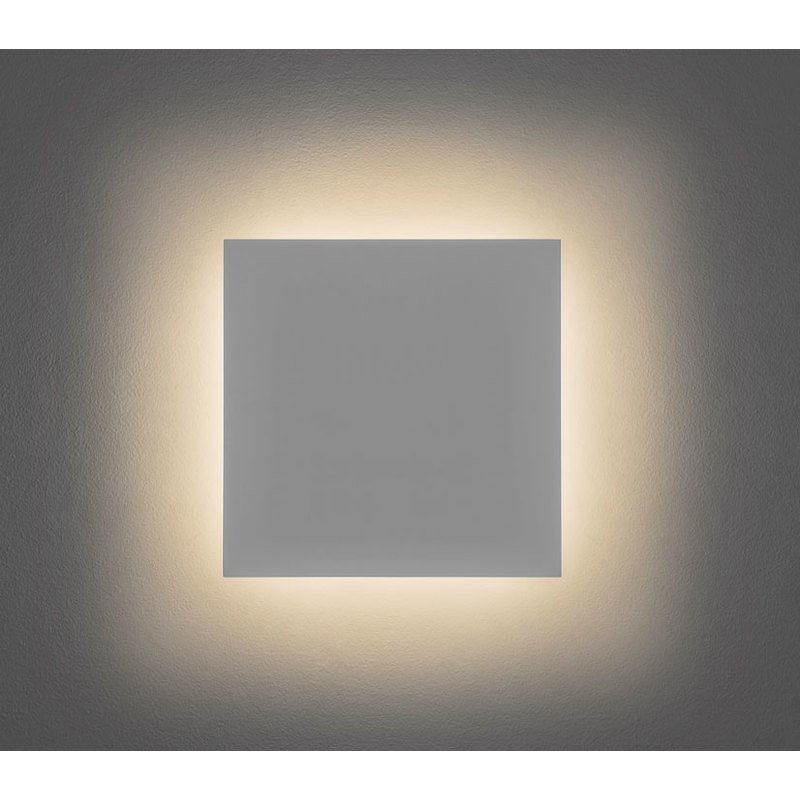 Astro Eclipse 300 Square Led Plaster Wall Light 13w Led