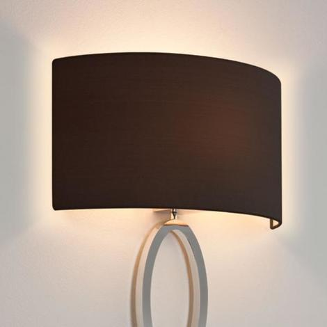 Astro Lima Fabric Half Lampshade For Wall Light With E27 Es Shade