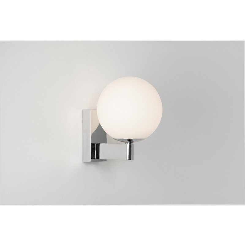 Admirable Astro Sagara 0774 Globe Bathroom Wall Light 1 X 40W G9 Ip44 Polished Chrome Home Interior And Landscaping Fragforummapetitesourisinfo