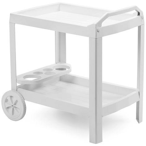 Astro Servierwagen weiß-MAST36CBI