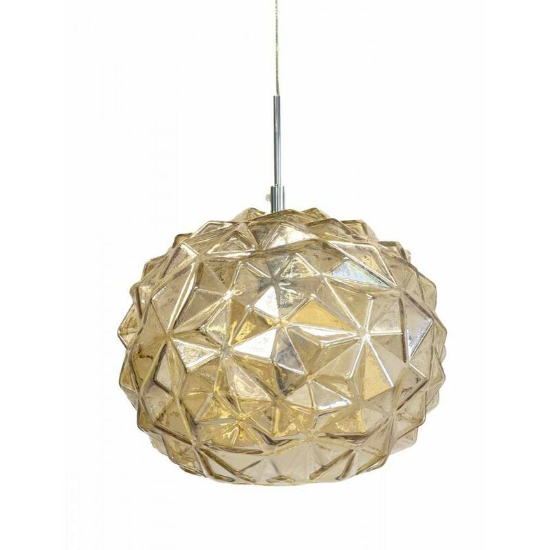 Image of Jack Stonehouse - At Home Comforts Amber Faceted Pendant Light
