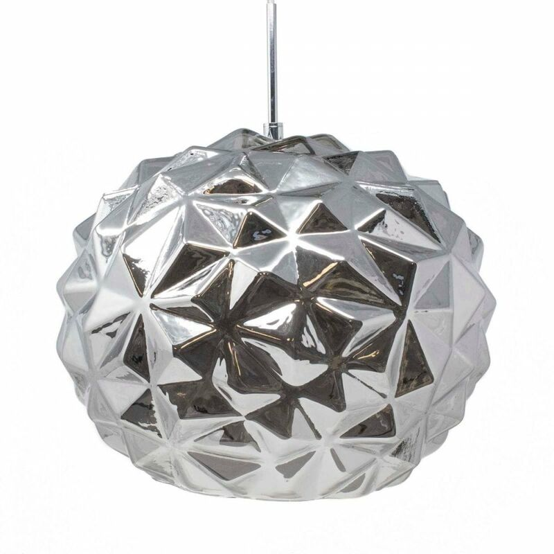 Image of Jack Stonehouse - At Home Comforts Black Faceted Pendant Light