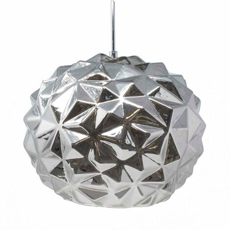 At Home Comforts Black Faceted Pendant Light