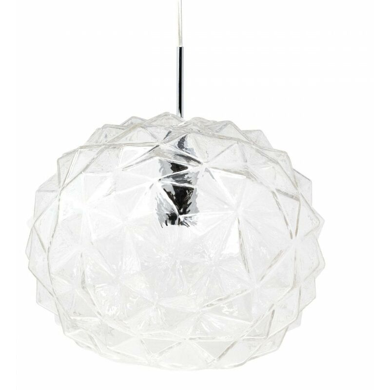 Image of Jack Stonehouse - At Home Comforts Clear Faceted Pendant Light