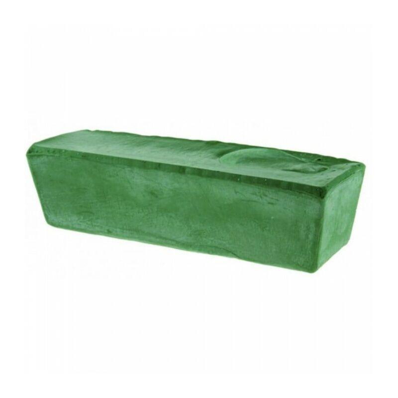 Pâte à polir verte 800 g métaux de couleur acier