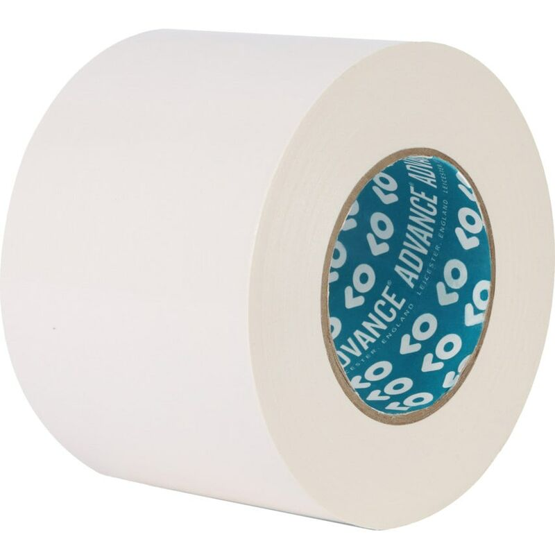 Image of AT132 100MMX50M White High Tack Poly Cloth Tape - Advance