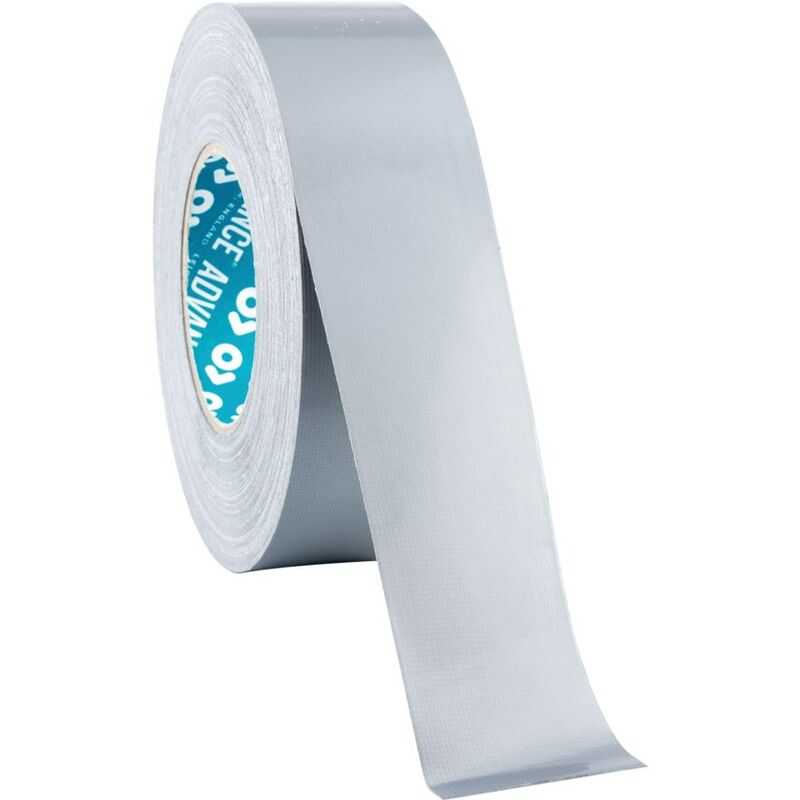 Image of Advance AT163 Silver Thermosetting Polycoated Cloth Tape - 50MM X 50M