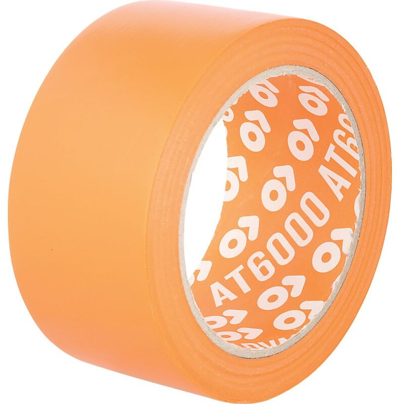 Image of 50MMX33M Orange PVC Building Tape - Advance