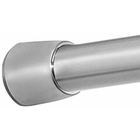 Ateliers 28 Facilitant 1 Tringle a Pression Entre-Murs Diametre 16 19 120-210CM Chrome Satine