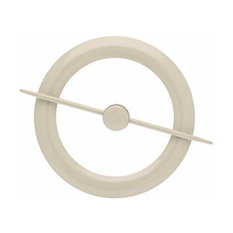 Ateliers28 _ Accessoire de Rideau 1 Embrasse Métal avec Magnet Central (Lin)
