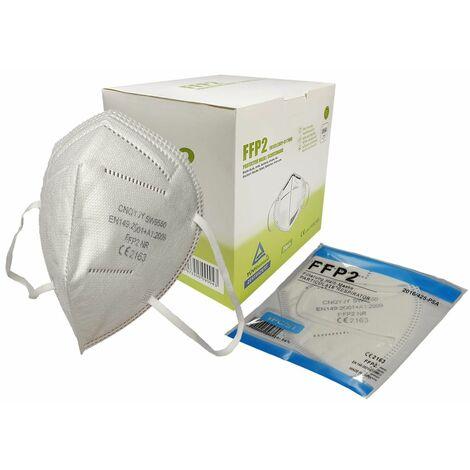 Atemschutzmaske FFP2 CE  - Schutzmaske - Mundschutz 3er, 5er, 10er oder 20er BOX