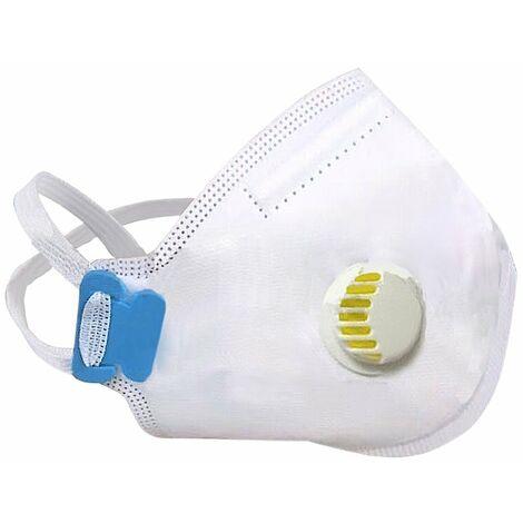 Atemschutzmaske FFP3 mit Ventil, mit Formschaum zur besseren Abdichtung
