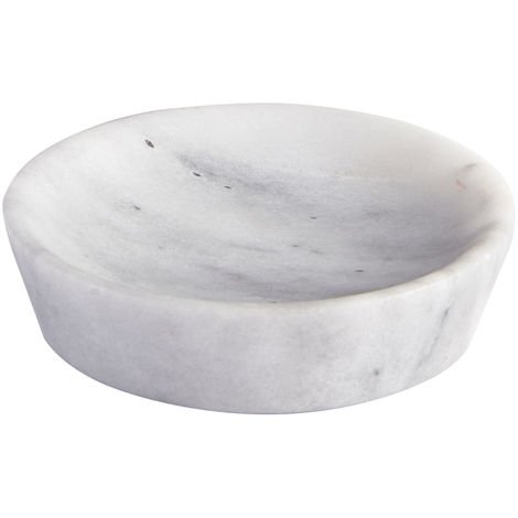 Athena Freestanding Marble Soap Dish